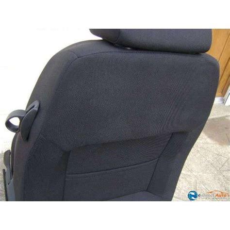 siege seat ibiza coiffe dossier siege chauffeur tissus noir seat ibiza