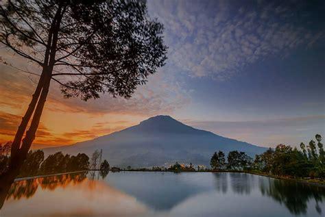 panorama embung kledung destinasi wisata alam