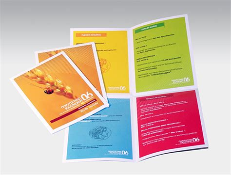 Software For Designing Brochures by Brochure Design Ideas Writtle Exhibition 2013