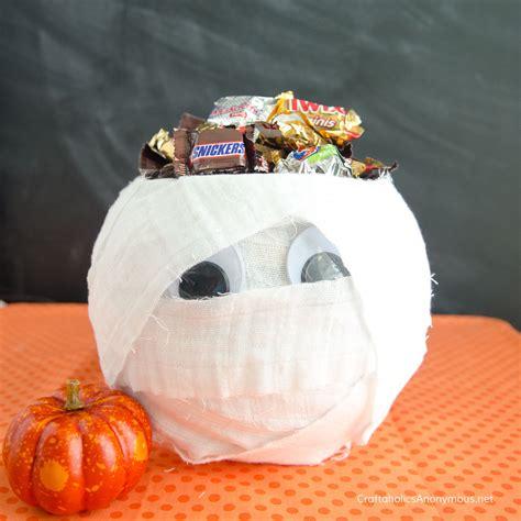 craftaholics anonymous mummy candy bowl   fish bowl