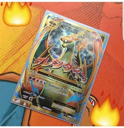 mega charizard   evolutions pokemon card full