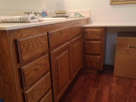 paint or stain kitchen cabinets bathroom cabinets paint or stain diy best stain for