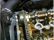 TiMing chain slide broke, causing oil pump chain to snap