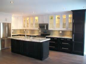idea kitchens ikea kitchens ramsjo white and ramsjo black brown