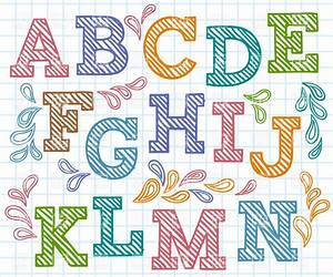 clipart alphabet fonts 101 clip art With free letter art pictures