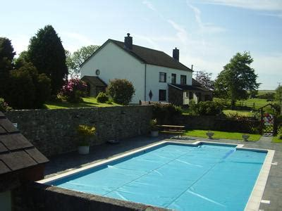 cottages with pool and tub trenewydd farm cottages pembrokeshire with swimming pool