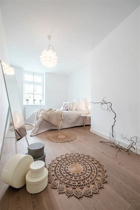 ideen fuer skandinavische schlafzimmer einrichtung