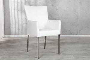 Stuhl Mit Armlehne : stuhl urbano mit armlehne weiss ~ Watch28wear.com Haus und Dekorationen