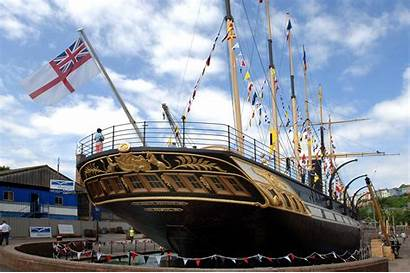 Britain Ss Ships Museum Ssgreatbritain Bristol Stern