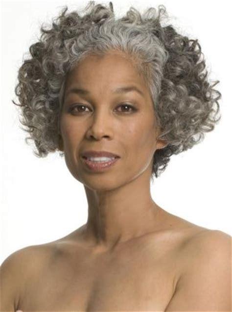 hair styles for black hair going grey gray gracefully teruko burrell 4318