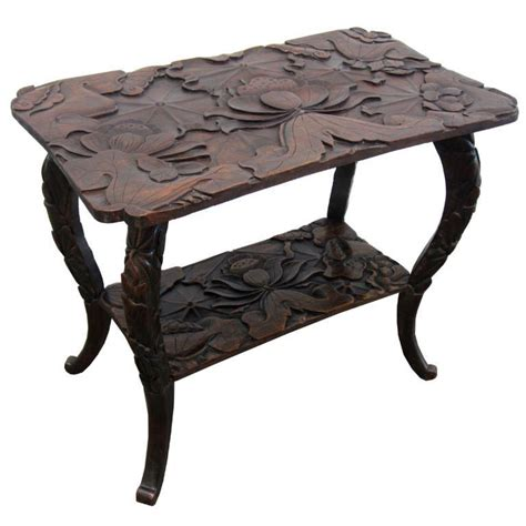 Japanese Carved Coffee Table  Coffee Table Design Ideas