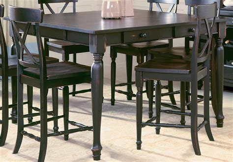 Wayfair Kitchen Bistro Sets by Black Bar Counter Height Table Set With Stool