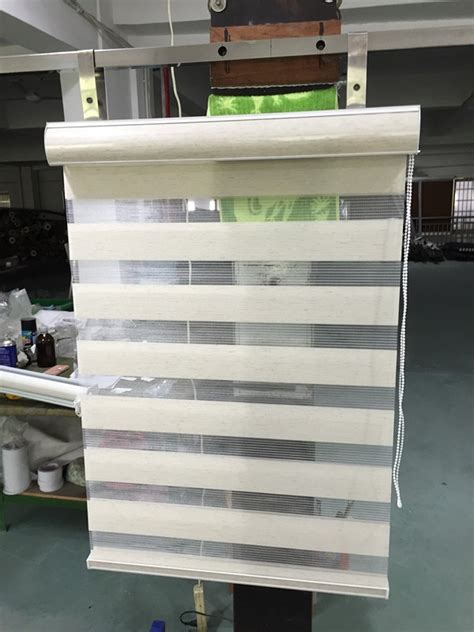 shipping zebra blinds double layer roller blinds