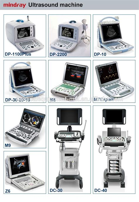 medical used MSK ultrasound machine with 6~15mhz linear ...