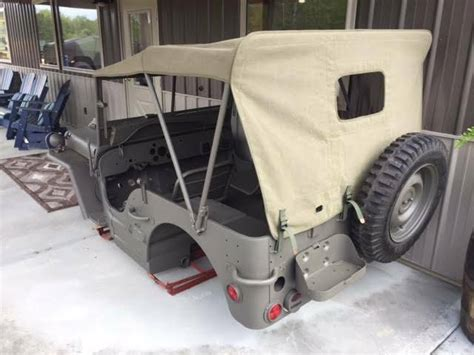 Willys Tub For Sale by 1942 43 Mb Master Tub Kit Complete Willys Jeep Cj2a