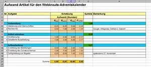 Excel Standardabweichung Berechnen : hilfsmittel f r aufwandssch tzungen webkrauts ~ Themetempest.com Abrechnung