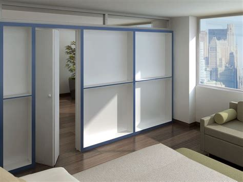 Bookcase Divider Wall by Bookcase Wall Free Standing 5 Quot Thick Bookcase Partition