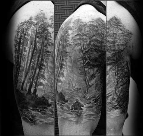 canoe tattoo designs  men kayak ink ideas