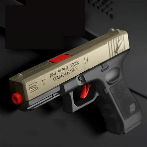 pcs plastic gel ball gun glock   water bullets boys toys gun weapon pistol accessories
