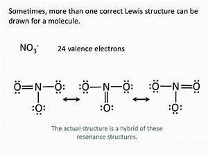 Drawing Lewis Structures  Resonance Structures
