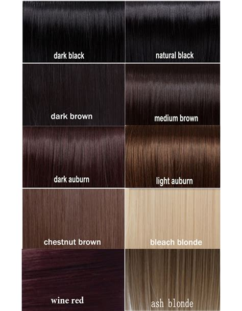 Different Types Of Black Hair Color by Layered Ponytail Clip On Hair Extension Wrap