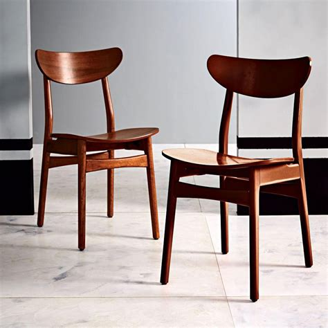 walnut dining chairs classic cafe dining chair walnut west elm australia 6459