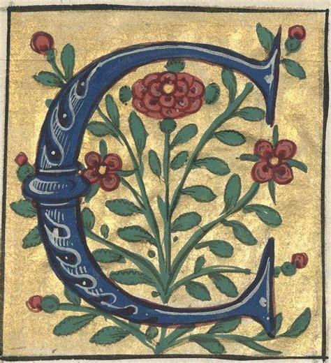 illuminated letter c 138 best iluminated initials images on herb 39560