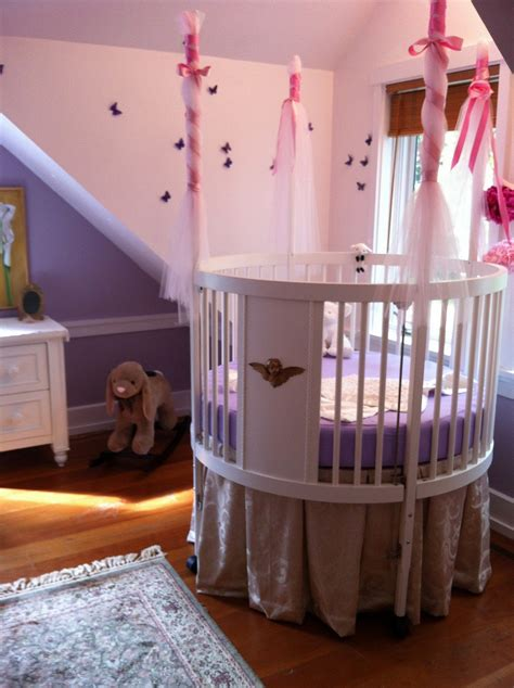 Cool Round Baby Cribs For Your Baby Rooms