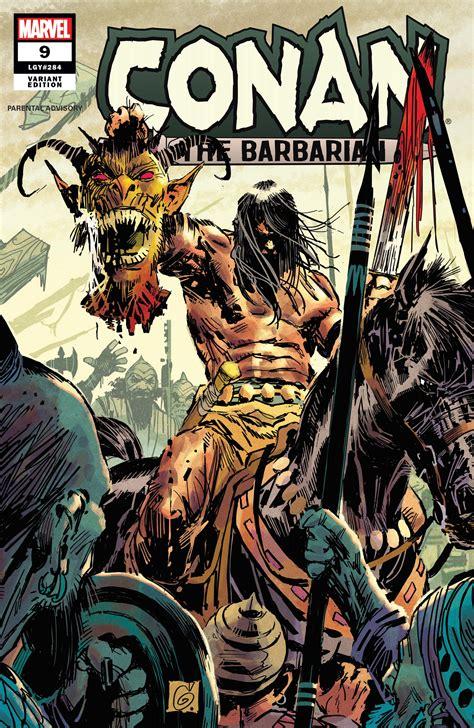conan  barbarian   variant marvel