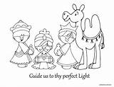 Wise Coloring Three Pages Sheet Christmas Bible Epiphany Jesus Sheets Gifts Story Nativity Foolish Clipart Paper Drawings Visit Crafts Getcoloringpages sketch template