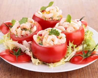 recette tomates farcies aux crevettes  avocat