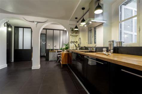 cuisine hygiena loft design contemporain cuisine other metro par