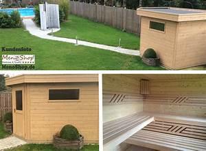 Gartensauna Mit Dusche : moderne aussensauna gartensauna mit vorraum sauna jana ~ Whattoseeinmadrid.com Haus und Dekorationen