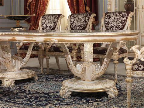 carved dining room  louis xvi style vimercati classic