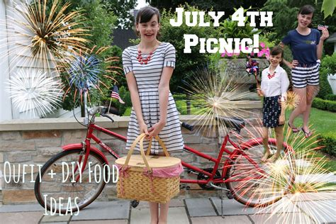 r駭ov cuisine 4th of july picnic ideas diy food