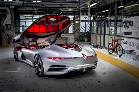renault trezor renault trezor concept car revealed in paris pictures