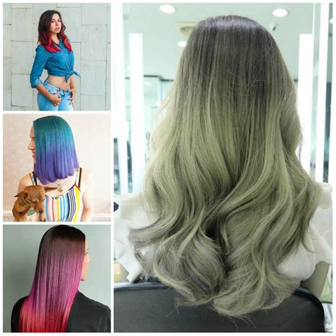 two tone color two tone hair colors for 2017 2019 haircuts hairstyles