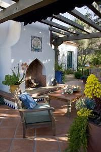 Southwestern Fireplace - Santa Barbara  Ca