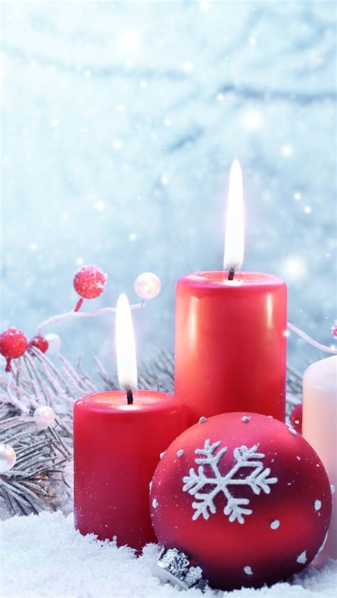 wallpaper christmas  year candle balls fir tree