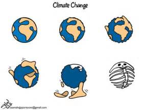 Earth Climate Change Cartoon
