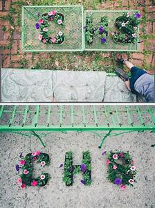diy initial letter planters hellonaturalco With letter planter