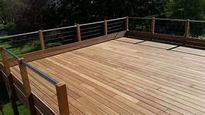 charmant prix de construction d une maison 3 terrasse With prix terrasse bois suspendue