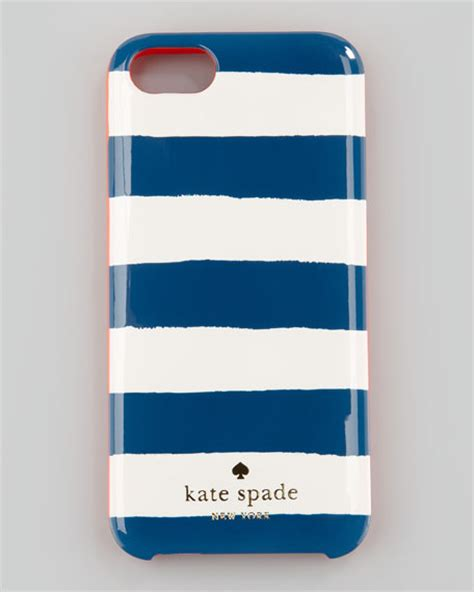 iphone 5 kate spade kate spade new york colorblock stripe iphone 5