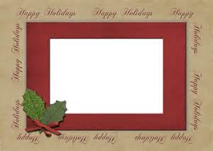 Happy Holiday Greeting Card Template