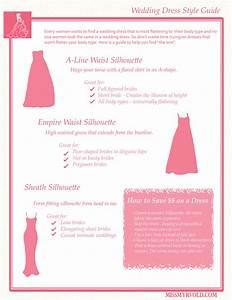 Wedding dress style guide missmyrvold for Wedding dress styles guide