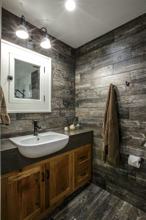 salle de bain rustique meuble salle de bain rustique chic