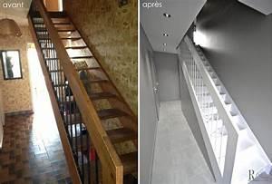 Implantation Salle De Bain : transformation compl te d 39 une maison des ann es 70 par ~ Dailycaller-alerts.com Idées de Décoration