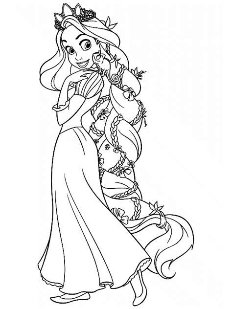 Kleurplaat Rapunzel rapunzel kleurplaat kleurplaat ploo fr