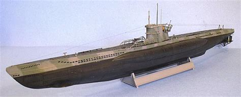 German U Boat Armament by Revell 1 144 Type Viid U Boat By Tom Cleaver