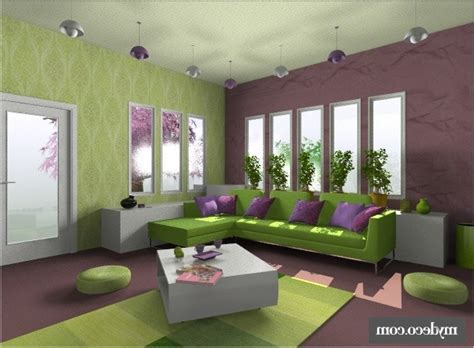Purple Colour Combination For Living Room Home Combo